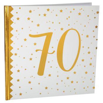Livre d'or âge d'or 70 ans