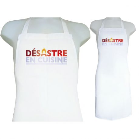 Tablier Personnalise Decor Desastre En Cuisine Thema Deco