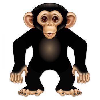 Décor articulé singe