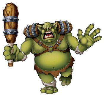 Décor géant Troll