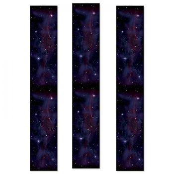 3 Décors galaxie sur toile