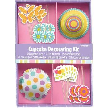 Kit déco 24 cupcakes Pâques