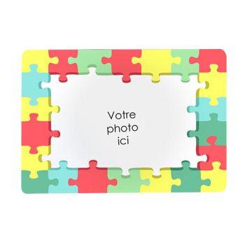 Tapis de souris personnalisé décor puzzle