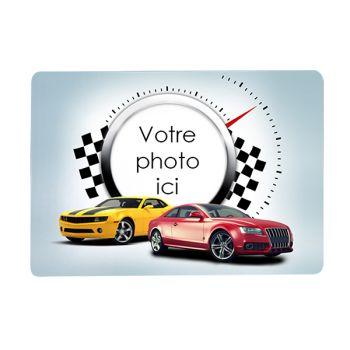 Tapis de souris personnalisé décor voitures