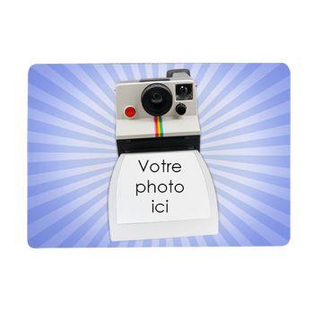 Tapis de souris personnalisé décor polaroid 2