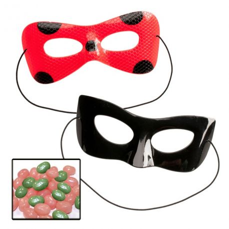 Pochette Masque Miraculous Avec Bonbons Thema Decofr