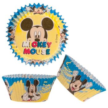 50 Caissette cupcakes Mickey mouse Ø5cm