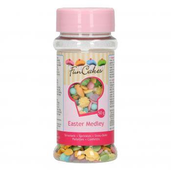 Mix confettis de Pâques en sucre