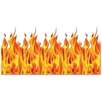 Décor mural flamme