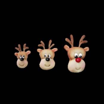 Moule à modelage Rennes de Noël