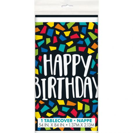 Nappe Happy Birthday mosaic