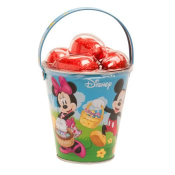 Seau Mickey avec oeufs de Pâques