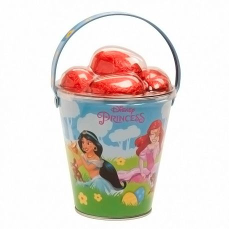 Seau Princesses Disney avec oeufs de Pâques