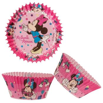 50 caissettes Minnie girly