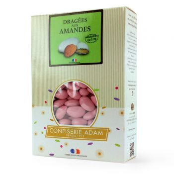 Dragées amandes Alsace rose nacré 1KG
