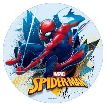 Disque azyme spiderman 16cm