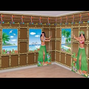 """Kit ambiance murale """"Hawaï"""""""