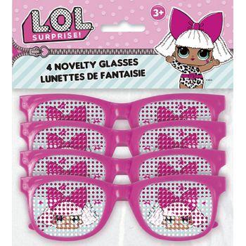4 lunettes LOL Surprise