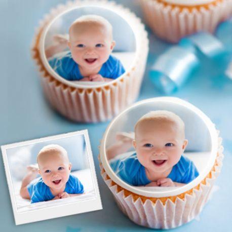 12 mini décors sur sucre à personnaliser à votre guise pour décorer petits gâteaux individuels ou cupcakes.Diamètre 5 cmPeuvent être...