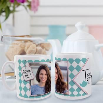 Mug personnalisé décor Tea time