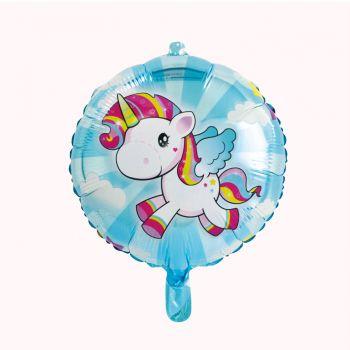 Ballon hélium Licorne pop