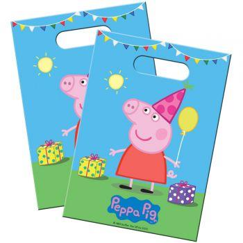 8 Sachets de fête Peppa Pig