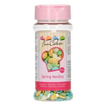 Confettis en sucre été Funcakes 50g
