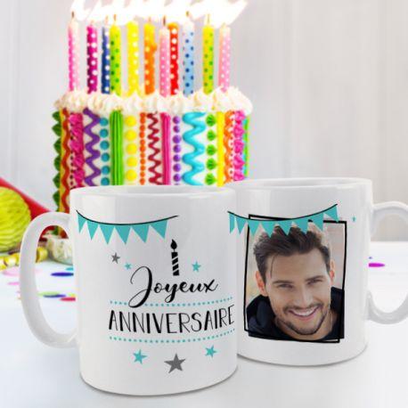 Magnifique mug en céramique à personnaliser avec vos photos et message personnelles . Ce mug personnalisé est un cadeau à offrir idéal...