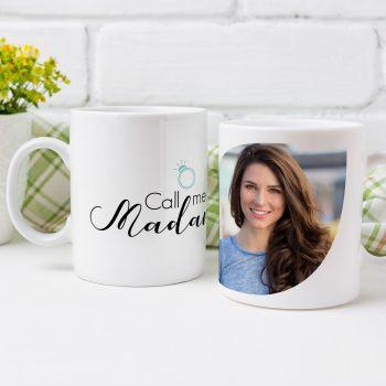 Mug personnalisé Call me Madame