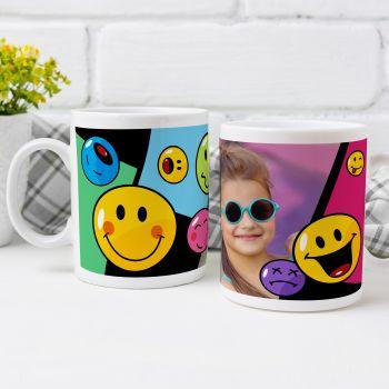 Mug personnalisé Smiley