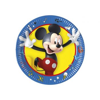 8 Assiettes dessert Mickey play