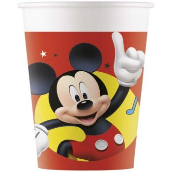 8 Gobelets plastique Mickey play