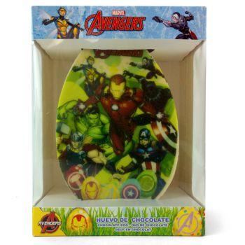 Oeuf en chocolat Avengers