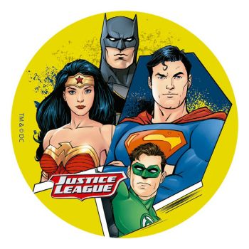 Disque ayme 16cm Justice league
