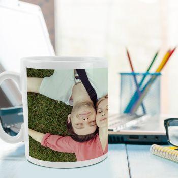 Mug blanc personnalisé