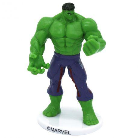 Figurine Hulk en plastique pour agrémenter votre beau gâteau d'anniversaire Dimensions :Spiderman 9cm