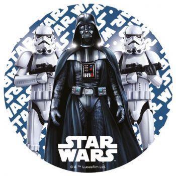 Disque azyme Star Wars Dark Vador bleu