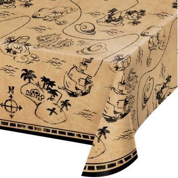 Nappe trésor de pirate