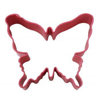 Emporte pièce papillon métal rose