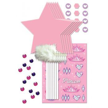 Kit 6 baguette princesses à customiser