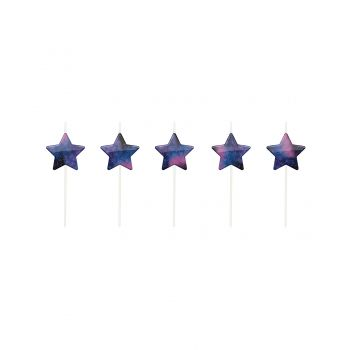 5 Bougies pics étoile galaxy