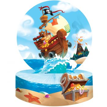 Centre de table trésor de pirate