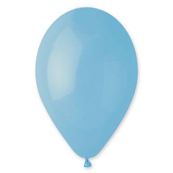 12 Ballons bleu bébé Ø30cm
