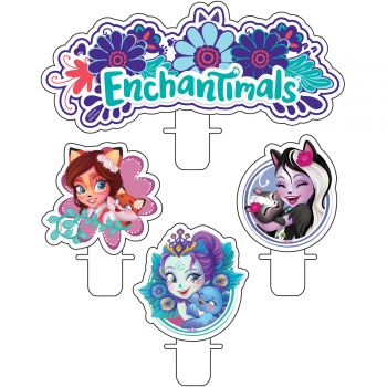 4 bougies Enchantimals