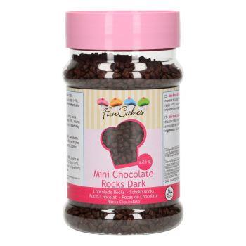Mini rochers chocolat noir Funcakes 225gr