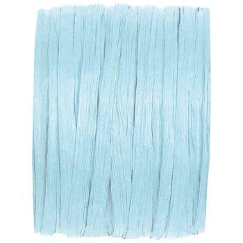 Bobine raphia bleu ciel 20m