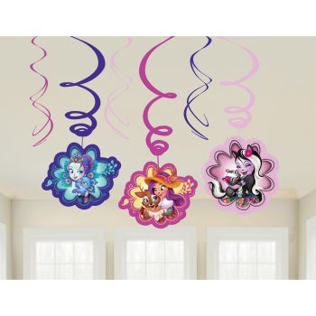 6 suspensions swirl Enchantimals