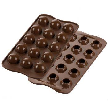 Moule à chocolat en silicone Silikomart praline