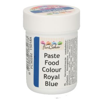 Pâte colorante alimentaire Funcakes bleu royal