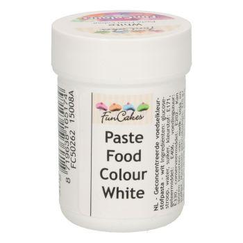 Pâte colorante alimentaire Funcakes blanche